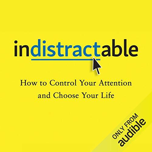کتاب صوتی Indistractable | دارک فاکس DARK FOX