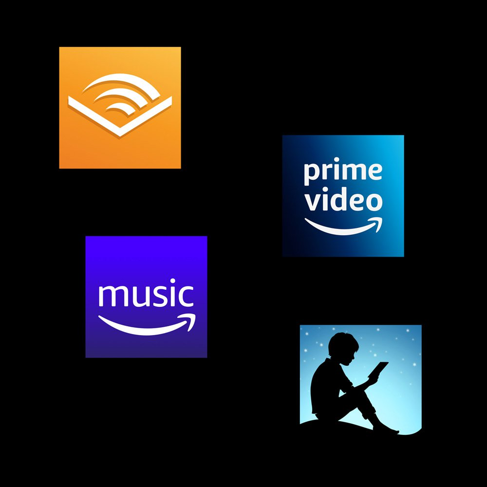 4 اکانت آمازون Amazon Kindle, Audible, Music, Prime